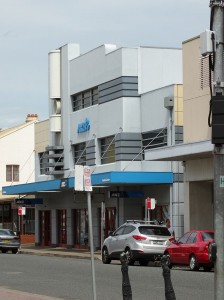 Art Deco building in Maitland